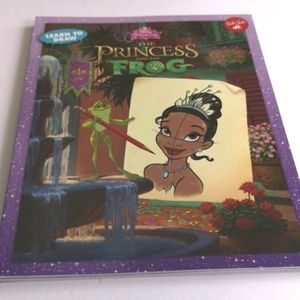 The Princess and the Frog - Learn to Draw Book